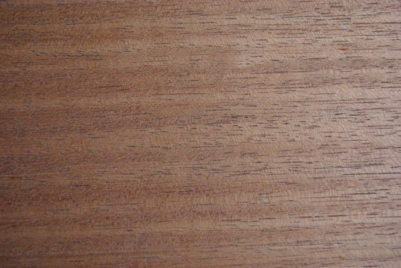 The grain structure of mahogany makes it a very stable wood, which is ideal for parts that must remain flat.