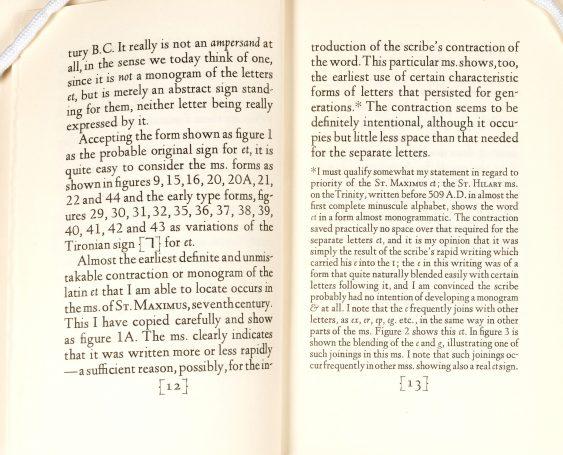 """Ands & Ampersands,"" pages 12&endash;13."