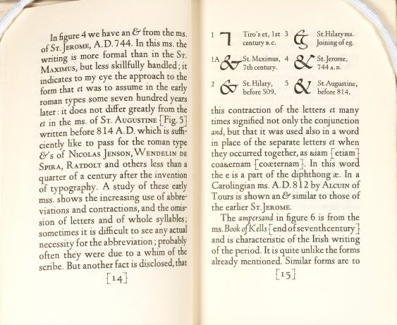 """Ands & Ampersands,"" pages 14–15."