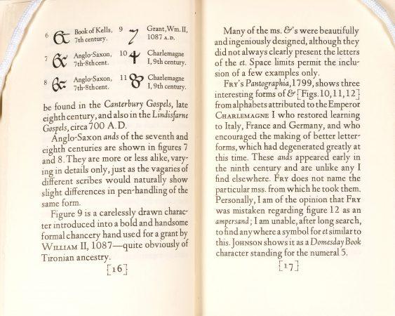 """Ands & Ampersands,"" pages 16&endash;17."